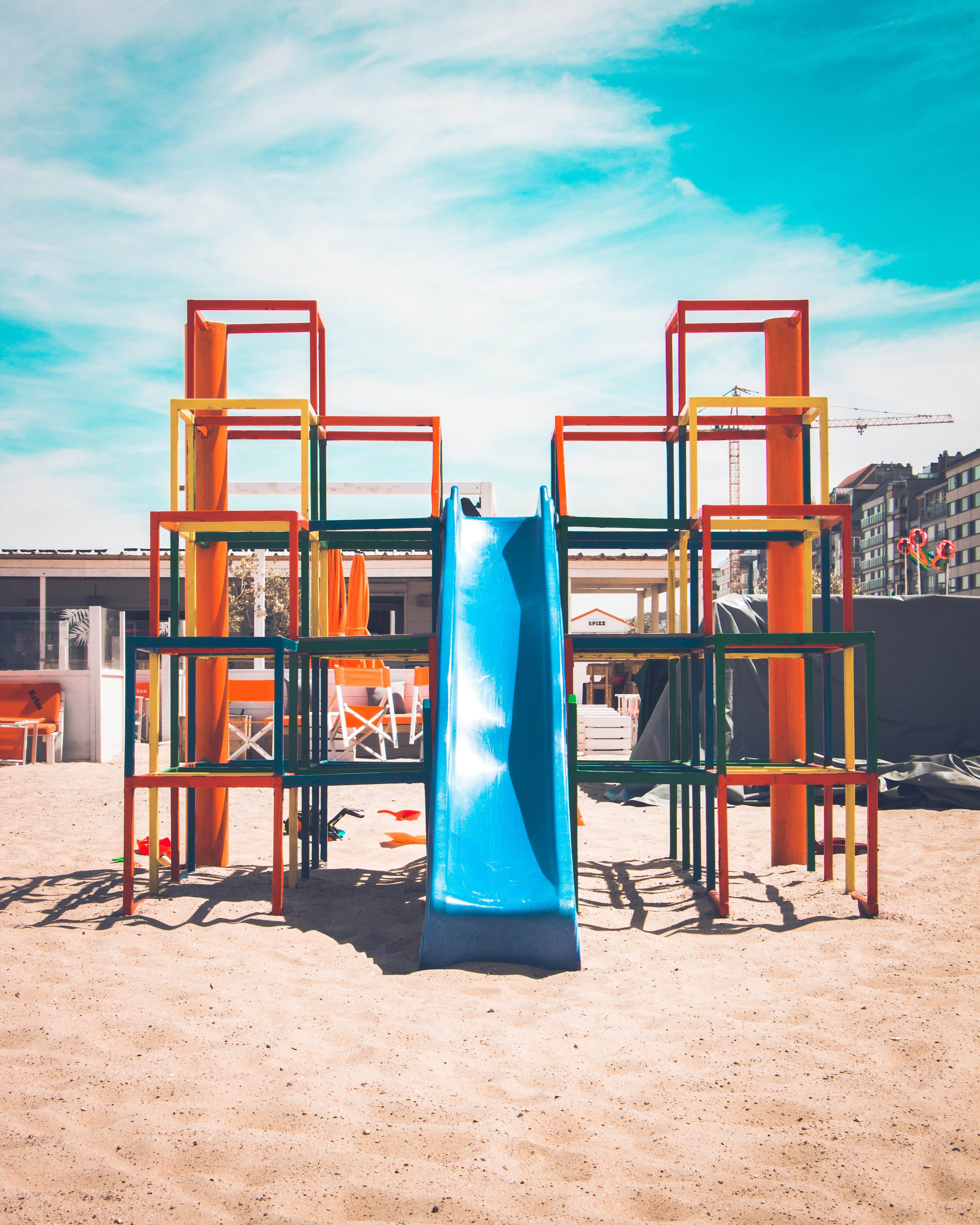Churchich Recreation The History of the Playground Play Structure with Slide